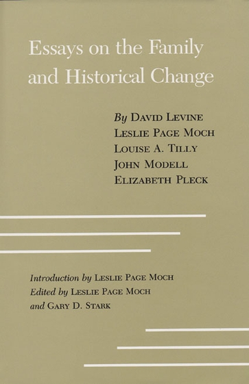 Essays on the Family and Historical Change
