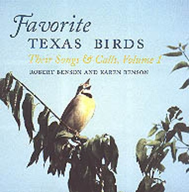 FAVORITE TEXAS BIRDS-BOXED TAPE