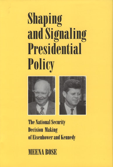 Shaping and Signaling Presidential Policy