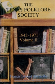 Texas Folklore Society, 1943-1971