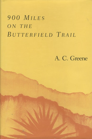 900 Miles on the Butterfield Trail
