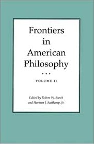 Frontiers in American Philosophy Vol II