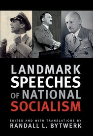 Landmark Speeches of National Socialism