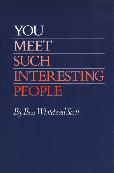 You Meet Such Interesting People